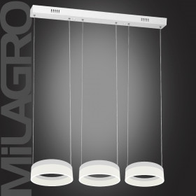 Milagro RING ML407 Függőlámpa 3x12W/LED 4000K 2520lm